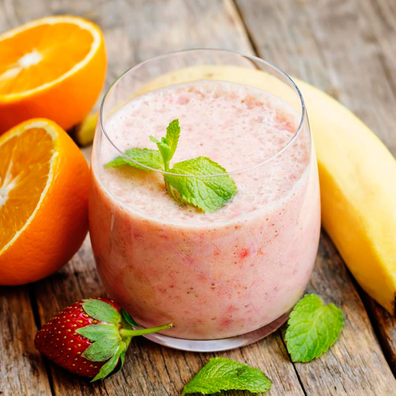 "Smoothie ""Strawberry, Orange, Banana"""